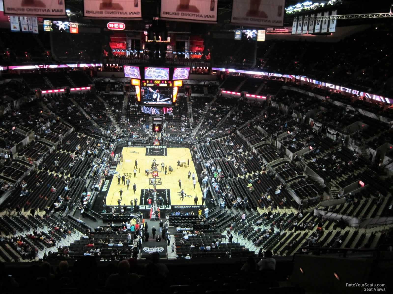 ATampT Center Section 200 San Antonio Spurs