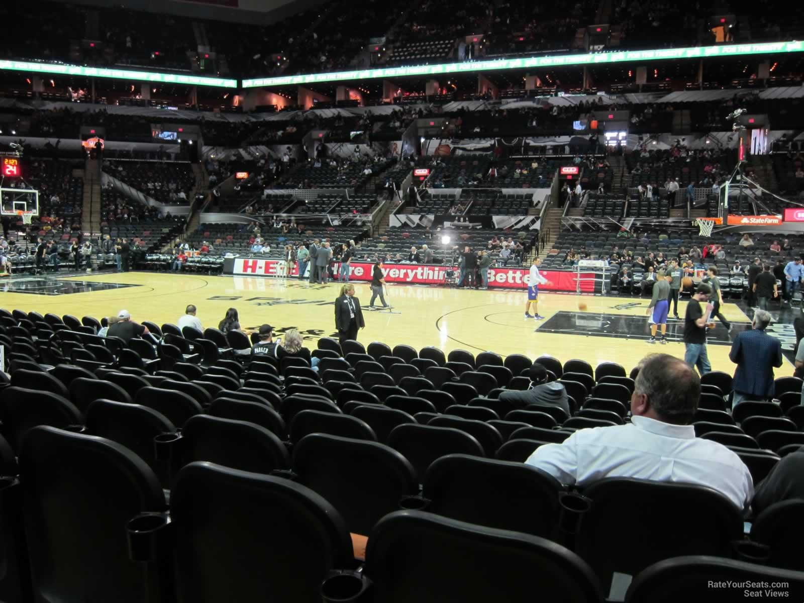 At Amp T Center Section 20 San Antonio Spurs Rateyourseats Com