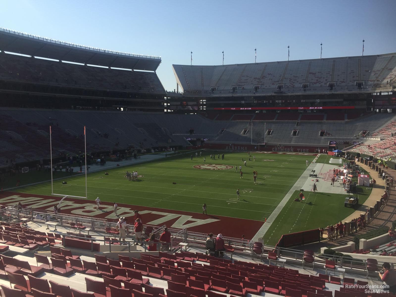 Bryant Denny Stadium Section N2 Rateyourseats Com