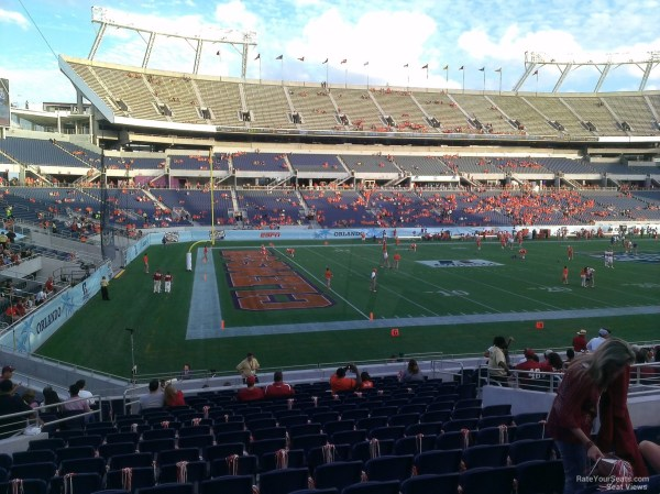 20 Citrus Bowl Seating Chart Pictures And Ideas On Weric