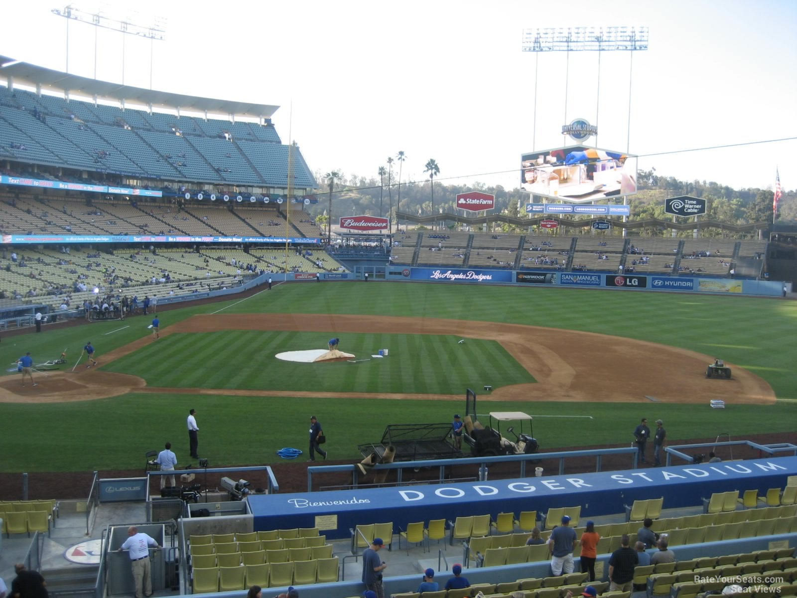 Dodger Stadium Seat View 2018 2019 New Car Reviews By
