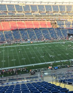 New england patriots seat view for gillette stadium section also rateyourseats rh