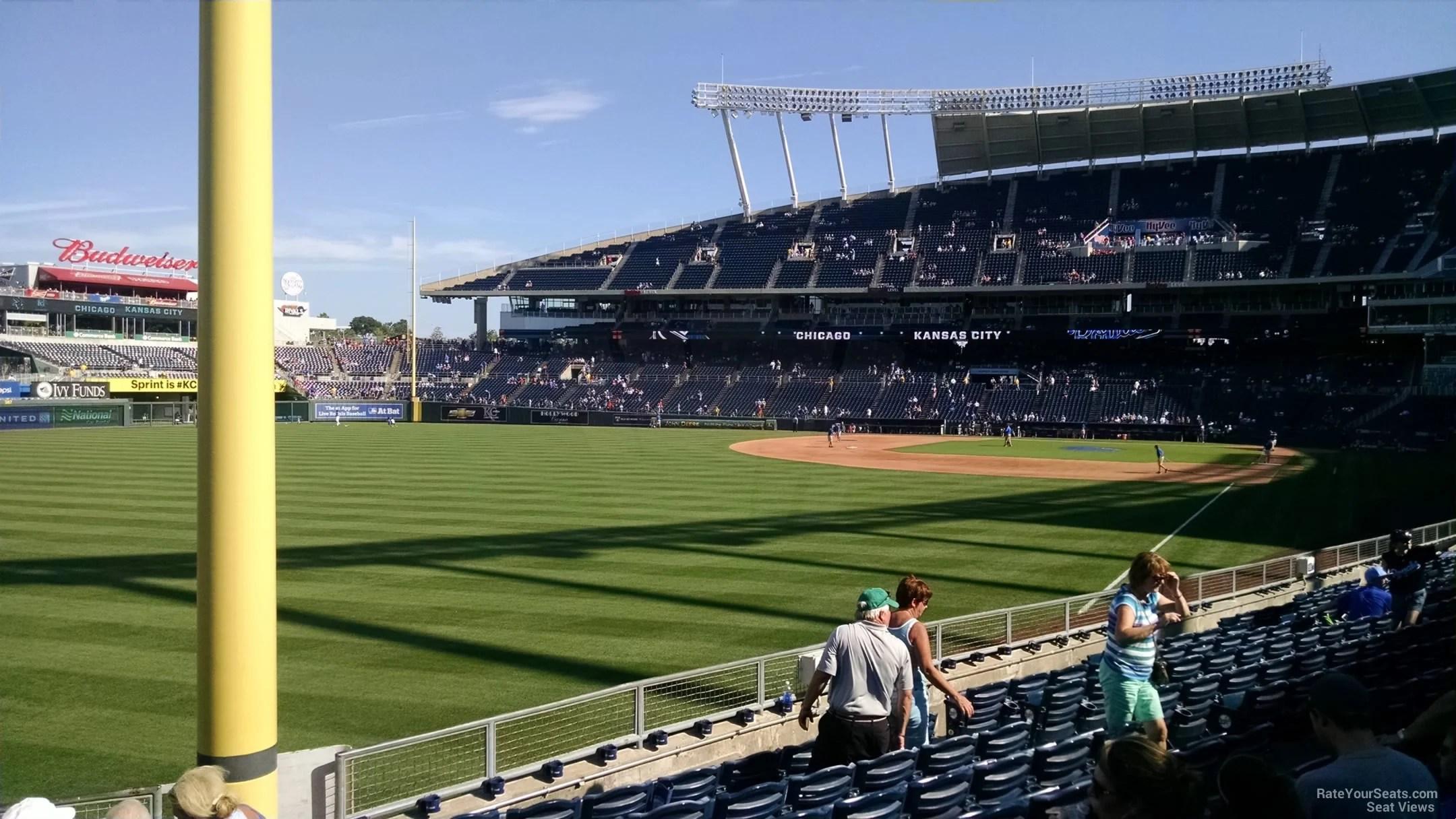 Kansas City Royals Seating View