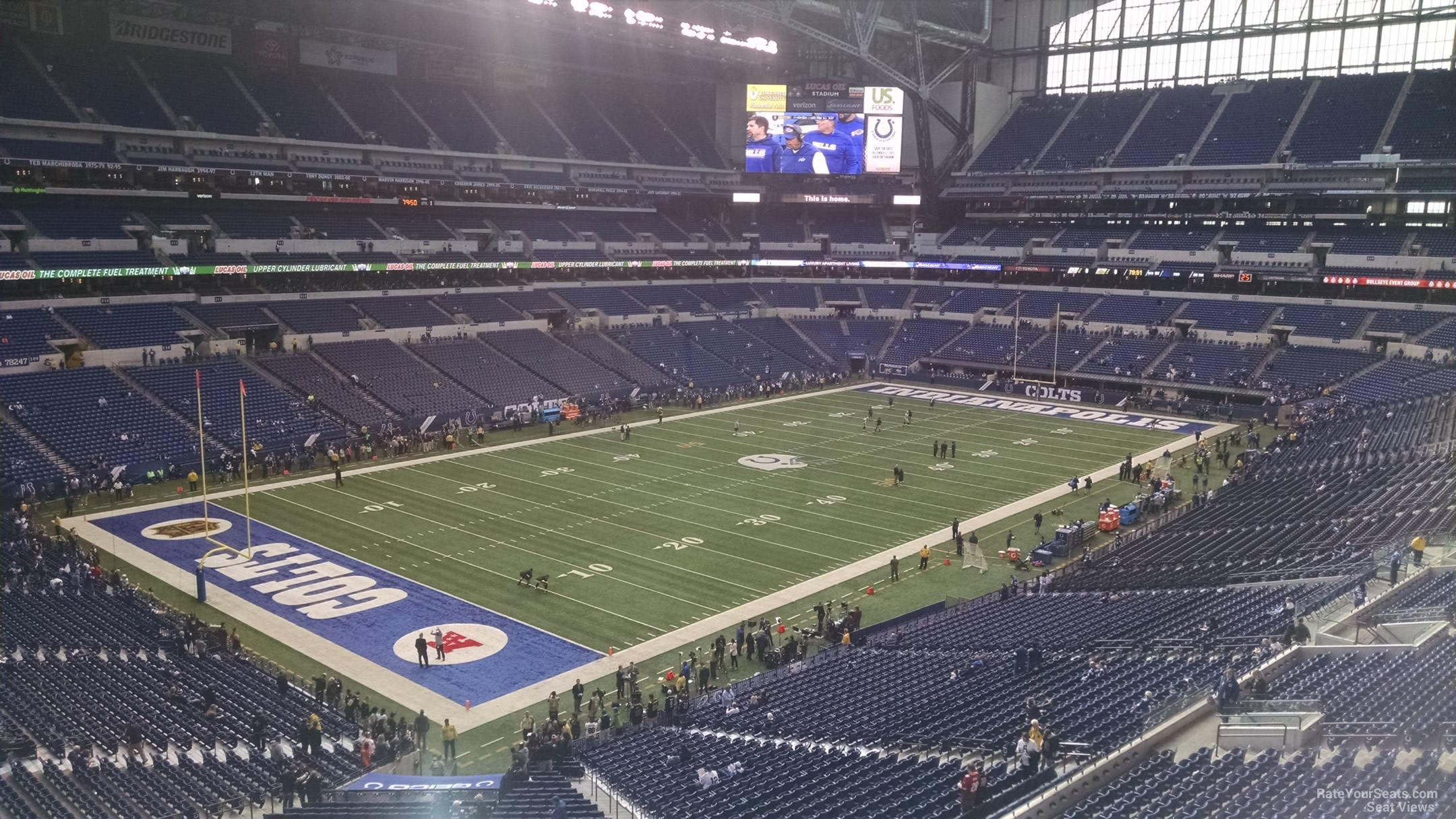 Lucas Oil Stadium Section 447  Indianapolis Colts