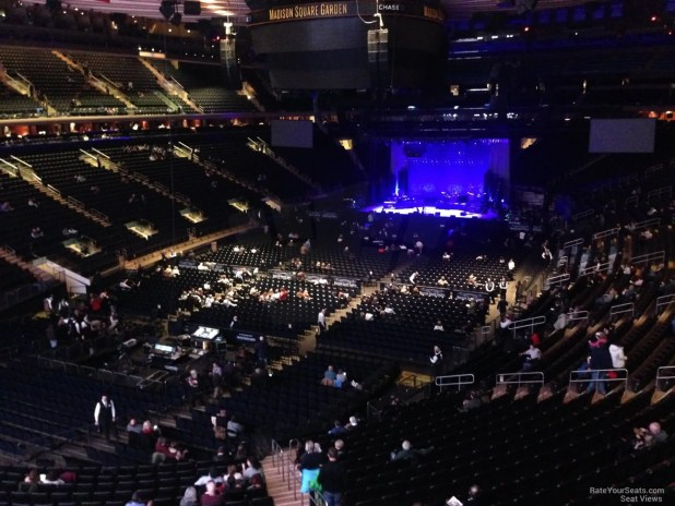 Madison Square Garden Seating Chart For U2 Concert