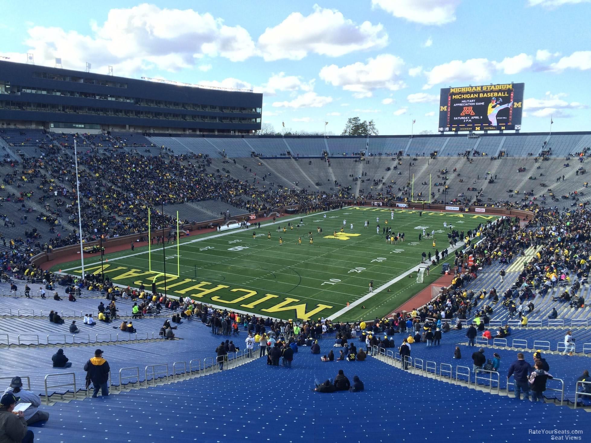 Michigan Stadium Section 8 Rateyourseats Com