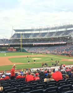Seat view for nationals park section also washington rateyourseats rh