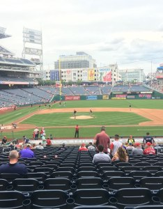 Seat view for nationals park section row hh also washington rateyourseats rh