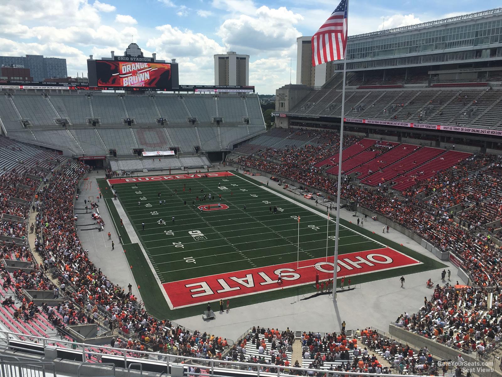 View Seating Stadium Chart Ohio