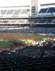 Seat view for petco park section also rateyourseats rh
