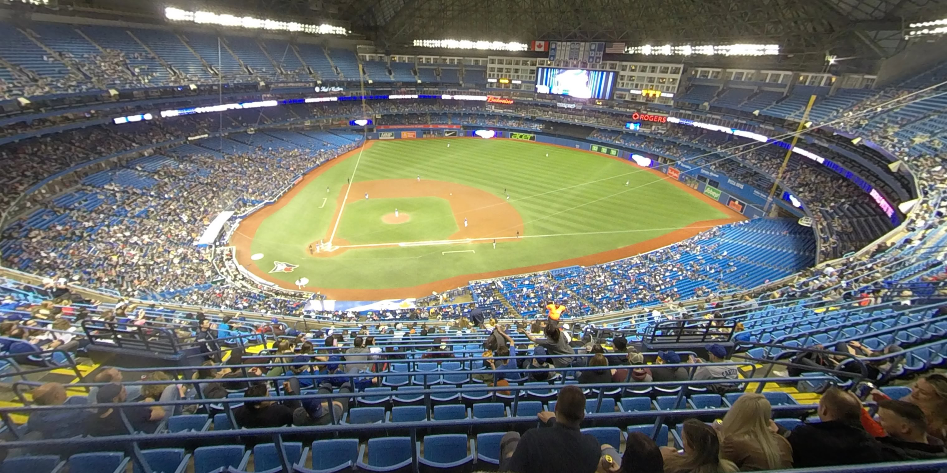 Rogers Centre Seating Guide