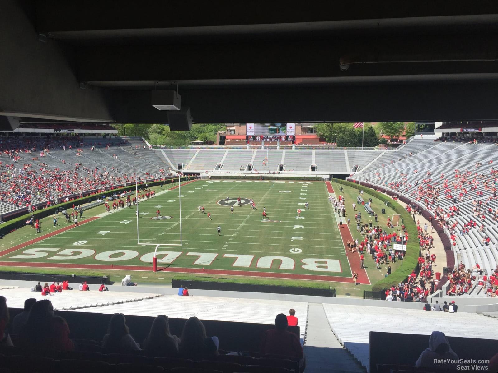 Sanford Stadium Section 118  RateYourSeatscom