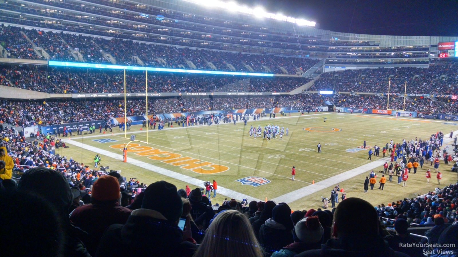 Soldier Field Section 248  Chicago Bears  RateYourSeatscom