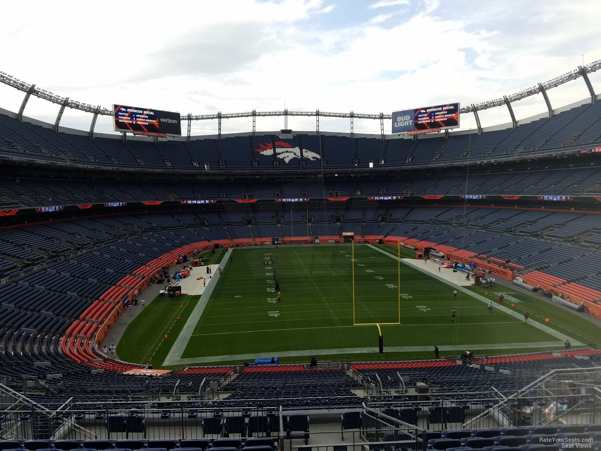 Broncos Stadium Club Level Seating