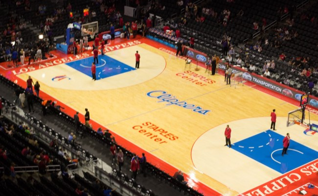 Staples Center Section 314 Clippers Lakers