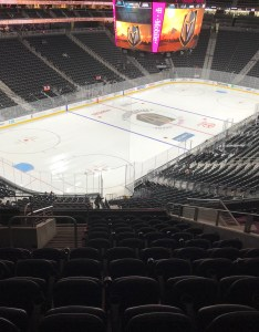 Seat view for  mobile arena section row  also vegas golden knights rateyourseats rh