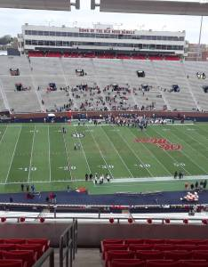 Seat view for vaught hemingway stadium section qq row also rateyourseats rh