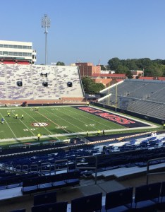 Seat view for vaught hemingway stadium section  also rateyourseats rh