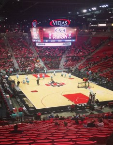 Seat view for viejas arena section  also rateyourseats rh
