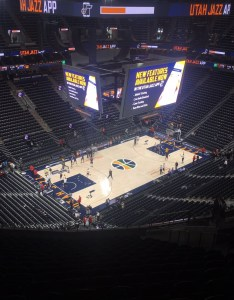 Seat view for vivint smart home arena section row also utah jazz rateyourseats rh