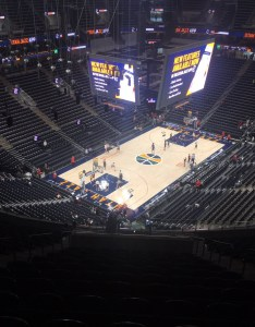 Seat view for vivint smart home arena section also utah jazz rateyourseats rh