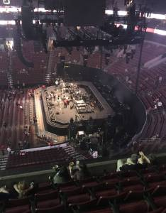 Concert seat view for wells fargo center section row also seating rateyourseats rh