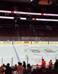 Philadelphia flyers seat view for wells fargo center section also rateyourseats rh