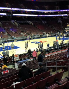 Philadelphia ers seat view for wells fargo center section also rateyourseats rh