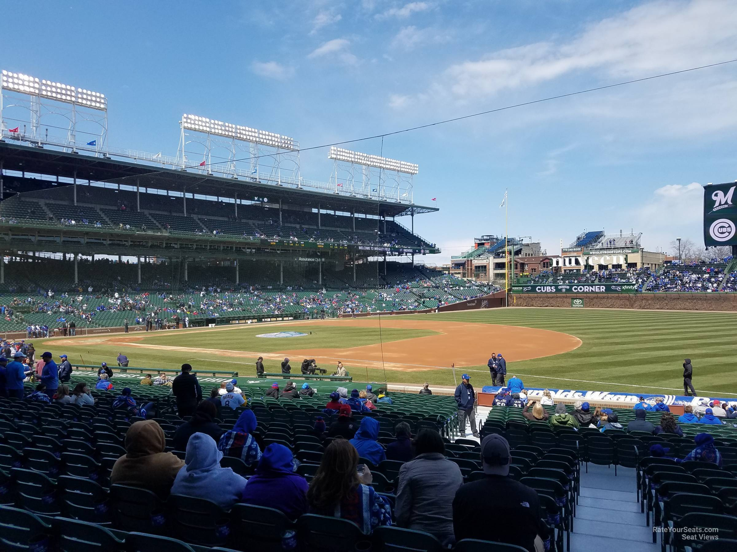 Wrigley Field Section Seat Numbers