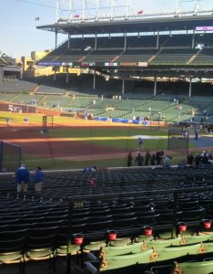 Chicago cubs wrigley field seating chart  interactive map rateyourseats also rh