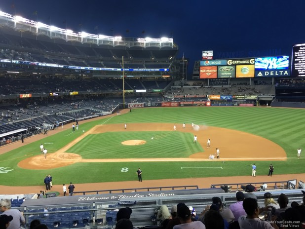 New York Yankees Seat View For Yankee Stadium Section 216