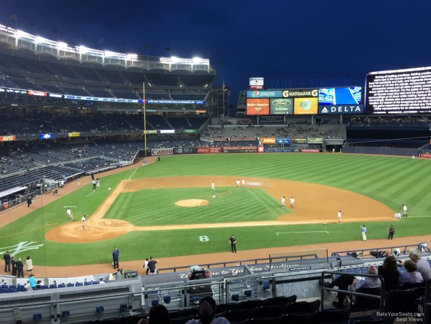 New York Yankees Seat View For Yankee Stadium Section 217