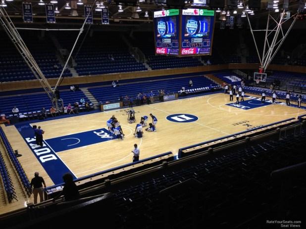 Cameron Indoor Stadium Seating Views Brokeasshome Com