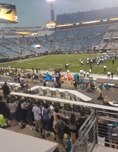 Looking down towards the lower club seats in assure also jacksonville jaguars seating guide tiaa bank field rateyourseats rh