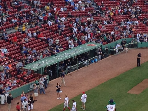 Red Sox Dugout Seats Brokeasshome Com