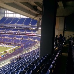 Best Folding Chair Diy Bows Lucas Oil Stadium Loge Level Corner - Football Seating Rateyourseats.com
