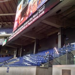 Folding Visitor Chair Lawn Usa Promotion Code Lucas Oil Stadium Loge Level Corner - Football Seating Rateyourseats.com