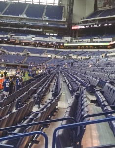 Street level club seats in section also indianapolis colts seating guide lucas oil stadium rateyourseats rh