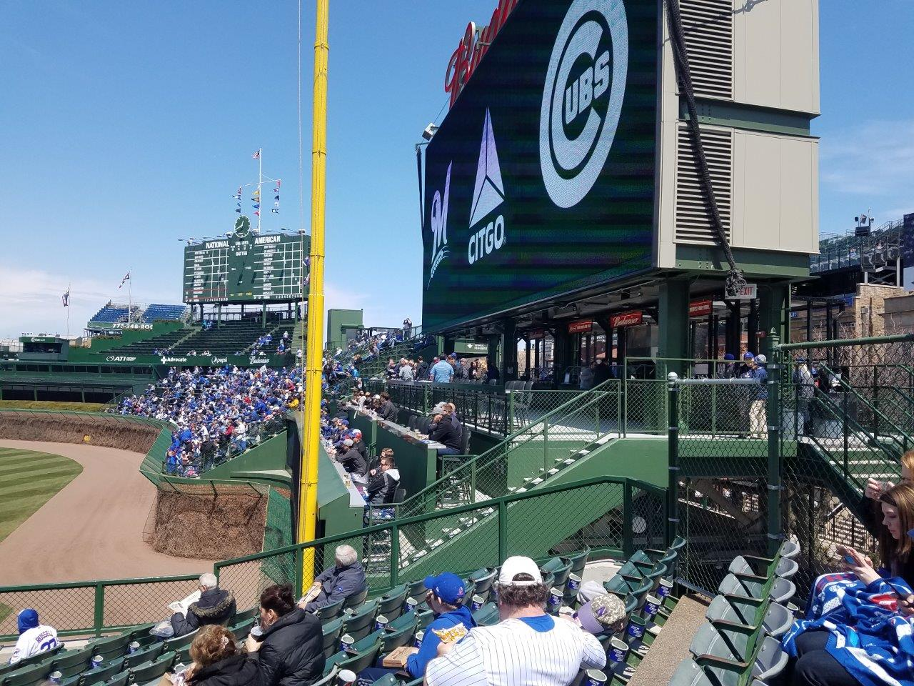 wrigley field seating for cubs games