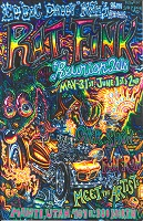 16th annual 2018 rat fink reunion poster