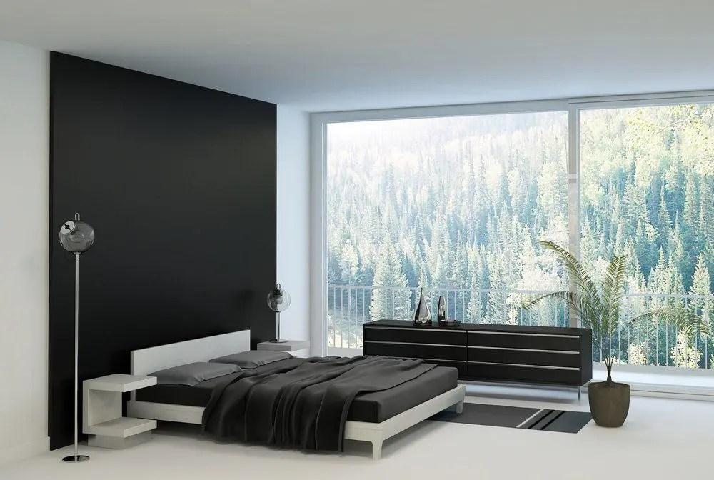 Schwarzes Schlafzimmer  Ratgeber Haus  Garten