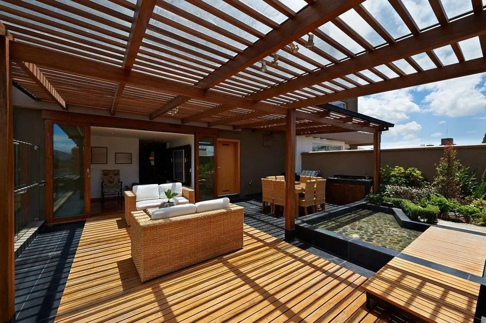 pergola fur die terrasse selber bauen