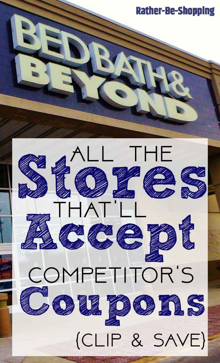 The 11 Stores That Happily Accept Competitor Coupons