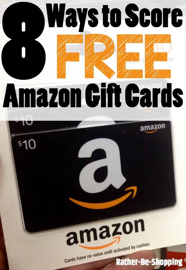 The free gift cards i score online using paid survey sites, cash back sites and other free rewards apps save me lots of money every year. 8 Awesomely Legit Ways To Score Free Amazon Gift Cards