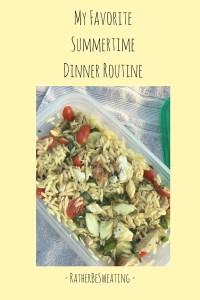 My Favorite Summertime Dinner Routine-4