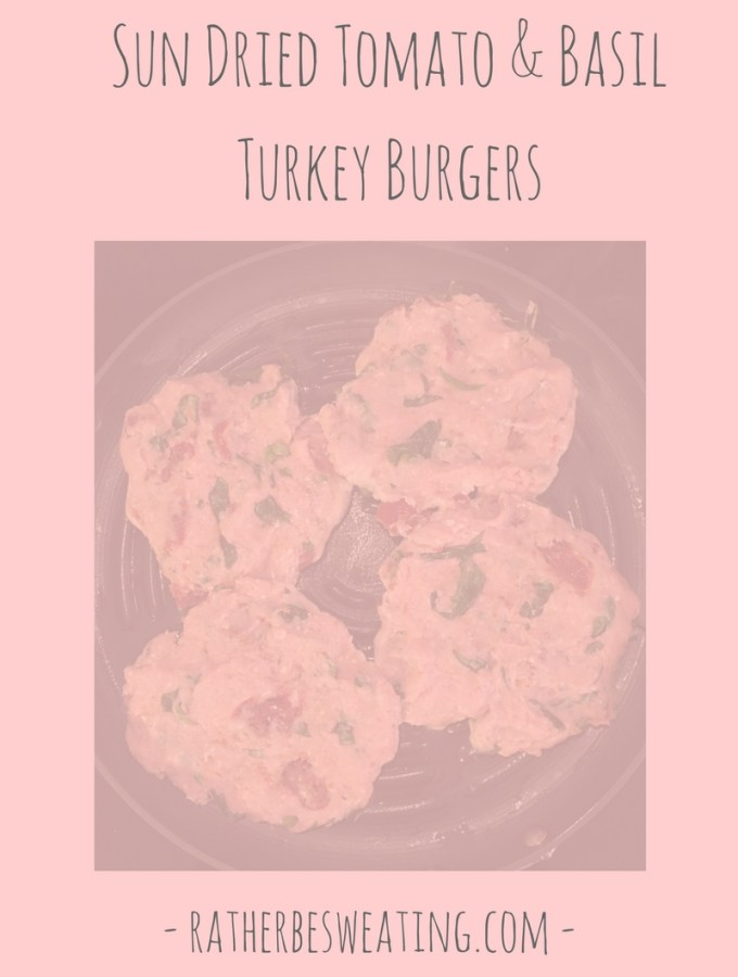 Sun Dried Tomato & Basil Turkey Burgers