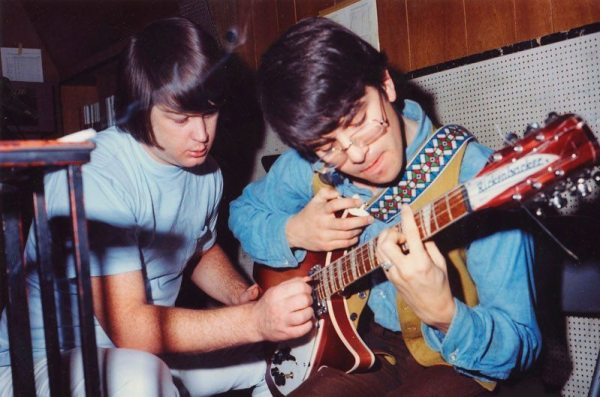 Convoluted Conversation Part 2: photo of Brian Wilson and Van Dyke Parks in 1966.