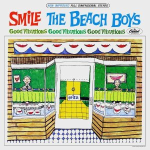Convoluted Conversation Part 1: cover of the original SMILE album of 1967 by the Beach Boys.