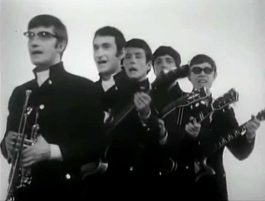Dandelion: photo of Russian pop group the Singing Poyushchiye Gitary (Singing Guitars) in the 1960s.