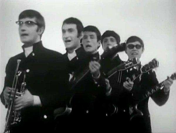 Dandelion: photo of Russian pop group the Singing Poyushchiye Gitary (Singing Guitars) in the 1960s.